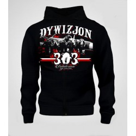 Bluza Patriotyczna z kapturem Dywizjon 303 Bohaterowie