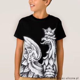 Koszulka patriotyczna dziecięca Orzeł (Cz)