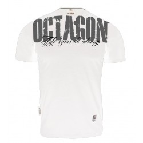 Koszulka Octagon - Tyle szans ile odwagi - biały