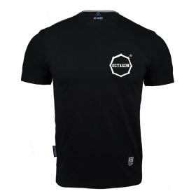 T-shirt Octagon - Tyle szans ile odwagi Logo - czarny