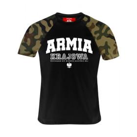 Koszulka patriotyczna Armia Krajowa - moro