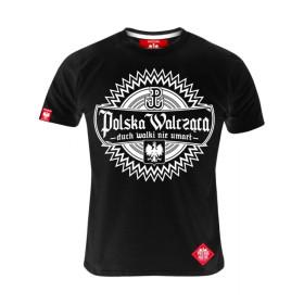 Koszulka patriotyczna Polska Walcząca - czarna