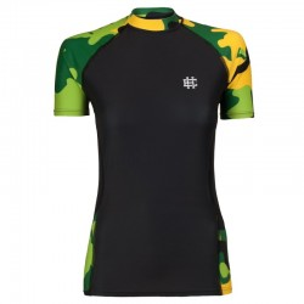 Koszulka termoaktywna damska CAMO zielone