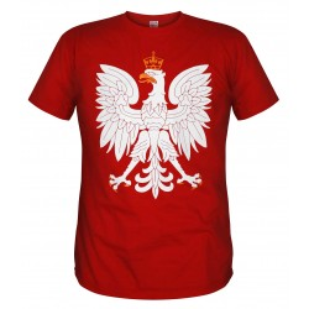 Koszulka patriotyczna Orzeł (czerwona)