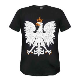 Koszulka Patriotyczna Orzeł (czarna)