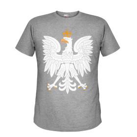 Koszulka Orzeł (popielata)