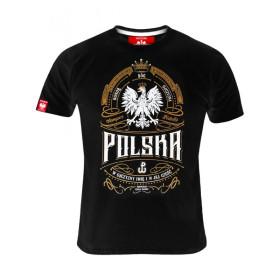 Koszulka patriotyczna męska - Bóg Honor Ojczyzna Rota