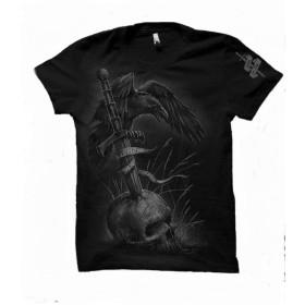Koszulka męska Zwycięstwo albo śmierć - czarna